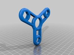 Tri Fidget Spinner - M8 weight