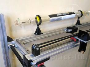 Laser tube mount 40W