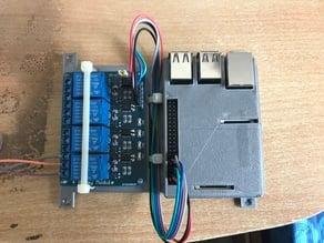 Relay case for Raspberry Pi 3 Model B
