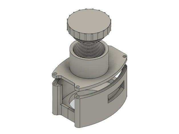 Shapeoko 3 spindle mount for DeWalt DWE6421 sander by cjhilinski