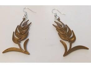 earrings wheat