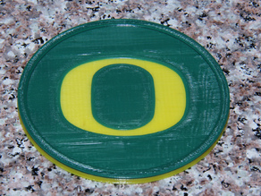 Oregon Ducks Coaster