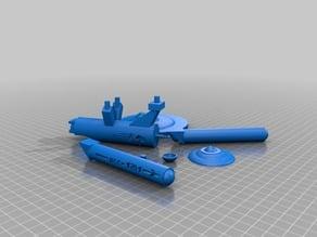 Original U.S.S. Enterprise NCC-1701 model parts