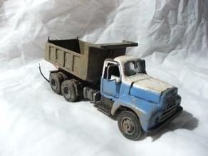 1954 International dump truck