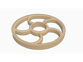 Rounded fidget spinner (without USA)
