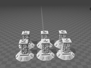 Chaos Objective Markers