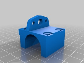Wanhao i3 BLTouch Mount for v2.1