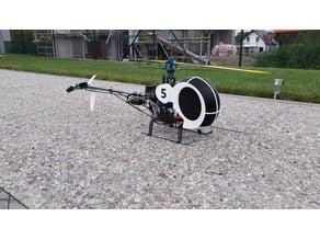 Schweizer/Hughes  300 canopy for T-Rex 450 SE/V2 heli
