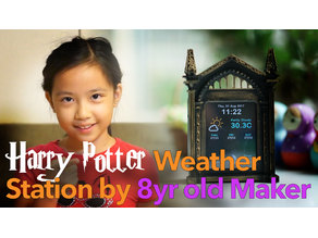Harry Potter Weather Station - Mirror of Erised REMIX