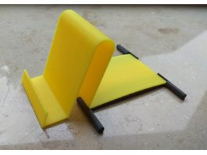Mobile Stand - 3 parts easy printable small and stable