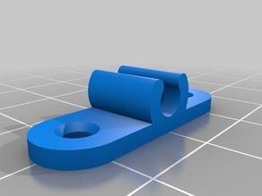 My Customized Parametric 4mm tube Holder