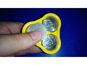 Portable coin box