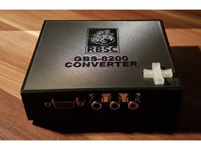 Case for GBS-8200 RGBS-to-VGA converter