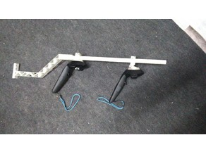 Adjustable Magnetic VR Rifle for Vive Wands.
