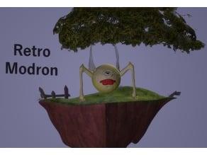 Retro Modron by Hyena Lobster