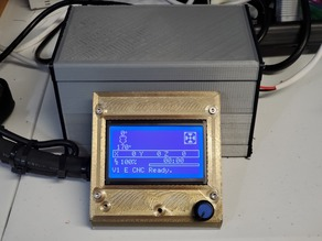 MPCNC Box For RAMPS 1.6 && Raspberry Pi 3B+ && 12864 LCD