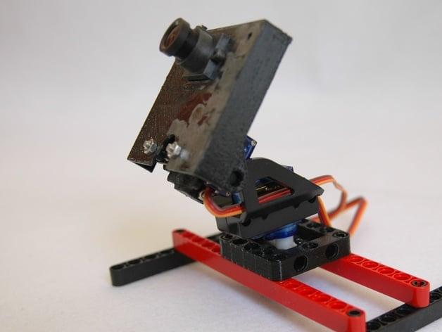 Camera Lego Mindstorm : Pixy pan tilt kit for lego mindstorm by jhlee y thingiverse
