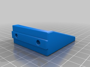 E3D Titan Extruder Mount for 30x30 Extrusions