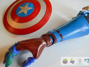 CAP AMERICA FLEXY ARM II ENABLE