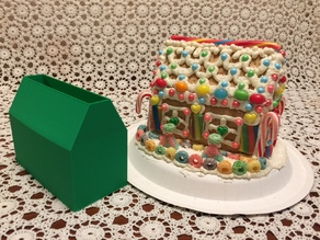 Gingerbread House Base