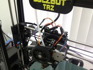 Lulzbot TAZ Dual Extruder mod