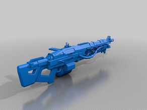 Destiny Exotic Machine Gun Thunderlord 1:1 Scale