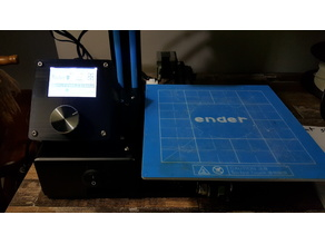 Hictop Ender 2 LCD and Control Mod