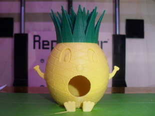 Pineapple-man Birdhouse