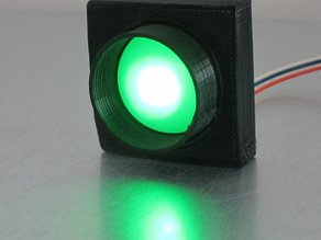 Enclosure for BlinkM i2c-controlled RGB led