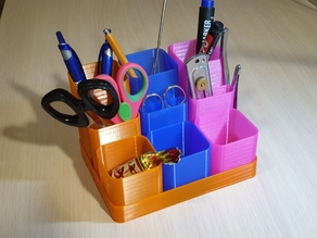 Modular pen holder (vase mode)