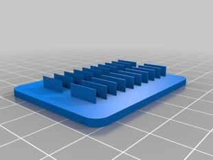 My Customized Wall / Gap Test Prints / .025-.5