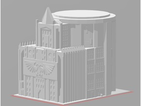 Admin Building (6mm/Epic scale/40K)