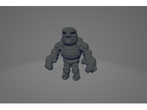 MINI GOLEM (28mm scale) + base