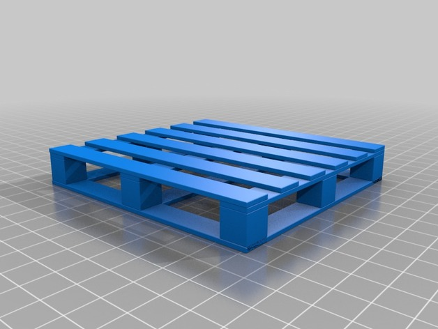 Chep Pallet By Cmac14 Thingiverse