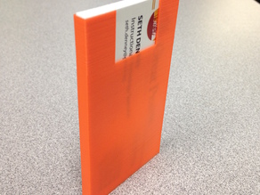 Thin Business Card Holder