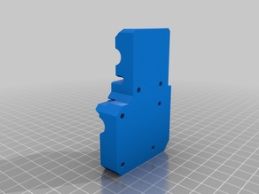 e3d_V6 titan extruder x-carriage 40 mm remix