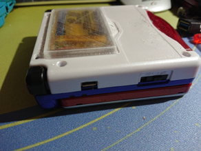 Gameboy Advance SP Extended Capacity Battery Cover