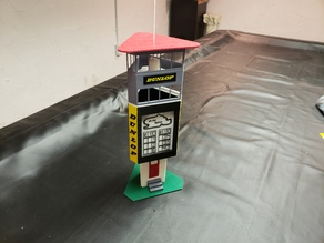 1/32 scale recreation of 1960's Nurburgring Dunlop Turm
