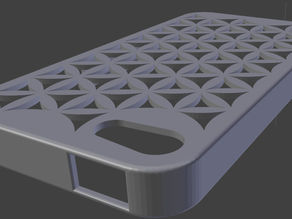 Iphone 4/4S case Flower of Life