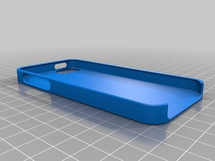iPhone 5 Case for customization and 3D Printing