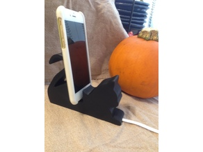 Cat phone/tablet stand