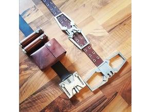 Destiny Warlock Belt Buckles
