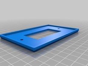 Leviton single-switch plate