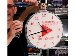 Wall-Mounted   Rotating Clock/Sign   MOTORIZED