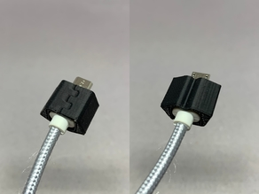 microUSB Connector Cover