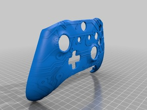 Xbox One S Custom Controller Shell - Circuit Pattern