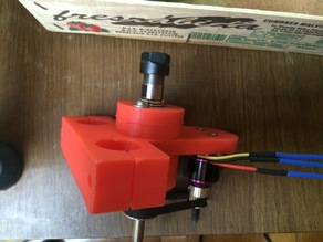 Mostly printed CNC custom Spindle mount and bearing-motor holder - INTERNATIONAL EDITION