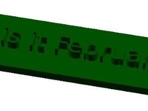 Sign-generator-openscad v1.1