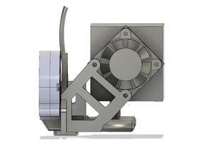 Part cooling and SN04 sensormount for Titan Aero clone