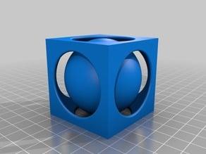 Ball inside Cube